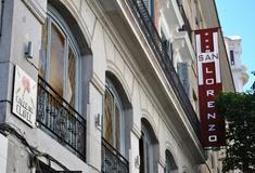 Fassade san lorenzo hotel madrid