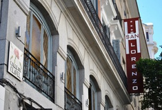 Fassade san lorenzo hostal madrid
