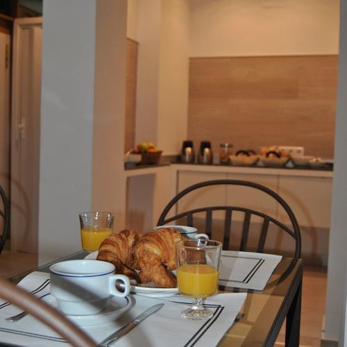 Frühstück San Lorenzo Hostal